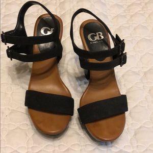 Gianni Bono Platform Heel Sandals NEW S 8